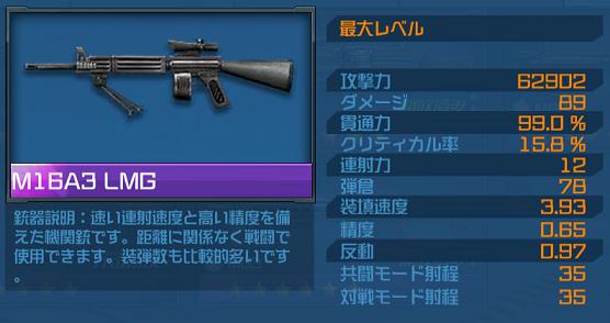 ハイドアンドファイア M16A3LMG