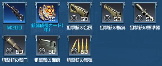 ハイドアンドファイア M200セット