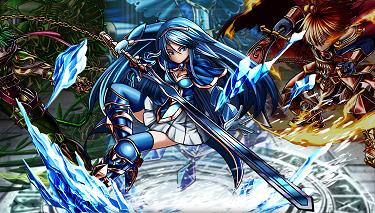 グランドサマナーズ 氷剣姫コルセア