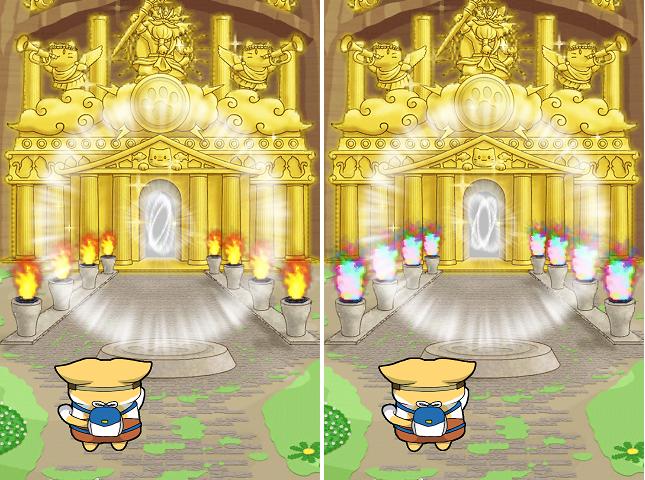 にゃんこ島 スマッシュバトル 炎が虹色