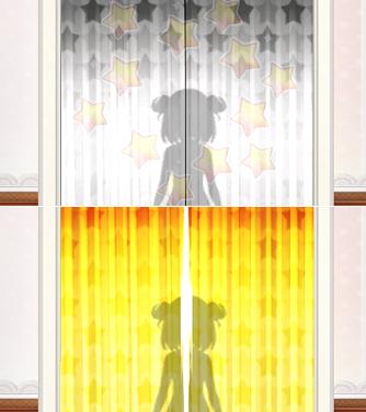 スクールスタードリーム~カミオシ!~ ガチャ幕の色
