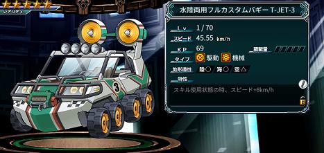 バディランナー 水陸両用フルカスタムバギーT-JET-3