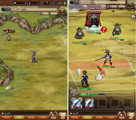 BRAVELY DEFAULT FAIRY'S EFFECT ダンジョンと戦闘