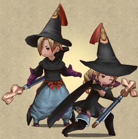 BRAVELY DEFAULT FAIRY'S EFFECT 黒魔道士