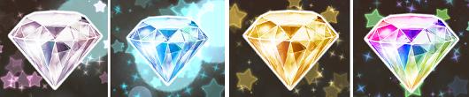 プリキュア つながるぱずるん ダイヤの色
