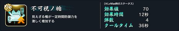 天華百剣 -斬- UR不可視ノ楯
