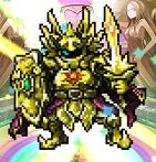 クロスリバース 黄金の騎士