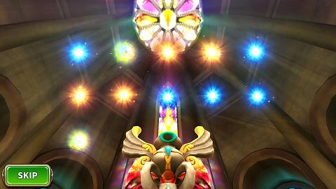 ルナプリ ガチャの光の色