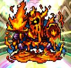 クロスリバース 火炎の騎士
