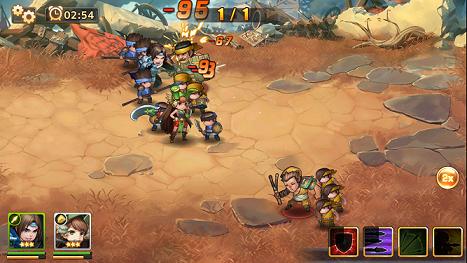ドラゴンブレイド 戦闘画面