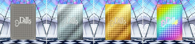 プロジェクト東京ドールズ カードの色2