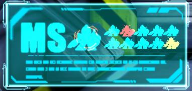 SDガンダム ジージェネレーション アールイー MSの色