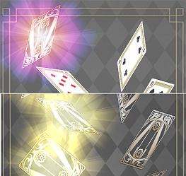 プリンセス・プリンシパル GAME OF MISSION カードの光