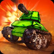 Crash of Tanks:Pocket Mayhem オンライン:Global Conquest アイコン