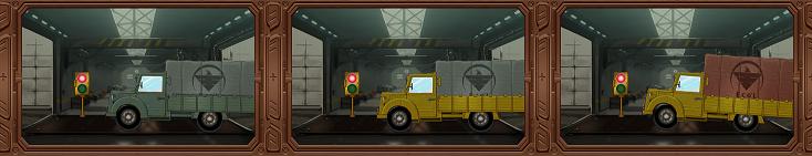 ヴァルハラフロント~パニッシュメントデイズ~ トラックの色