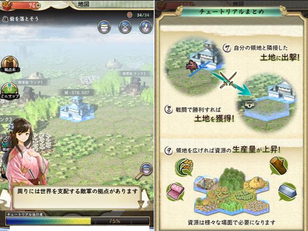 戦国大河 地図